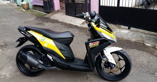 referensi modifikasi mio z 125